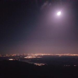 Cuerda Larga con luna llena