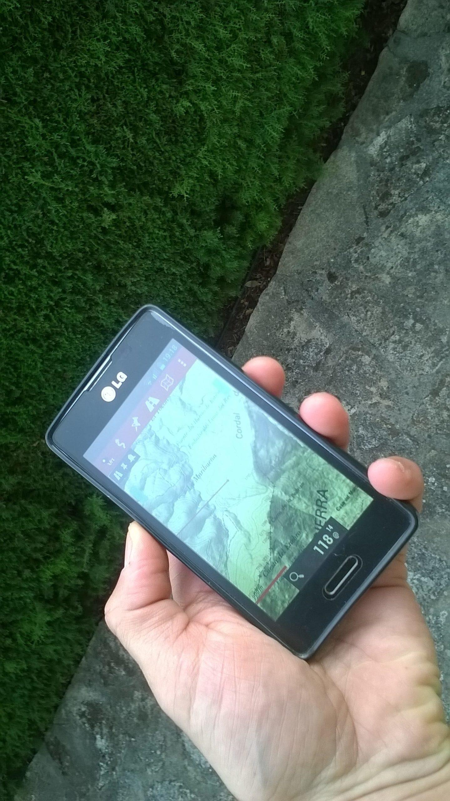 Orientación con Smartphones