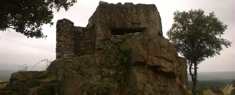 Fortín de Peña Zorreras (Senderismo Guerra Civil - Buitrago - Gandullas)