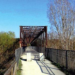 Puente de Hierro sobre el Guadarrama