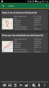 Rutas locales para Android basadas en OruxMaps