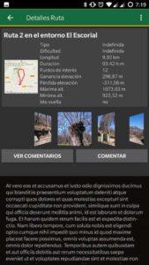Rutas locales Oruxmaps