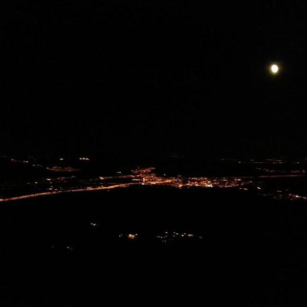 Senderismo nocturno con El Caminante y su Sombra