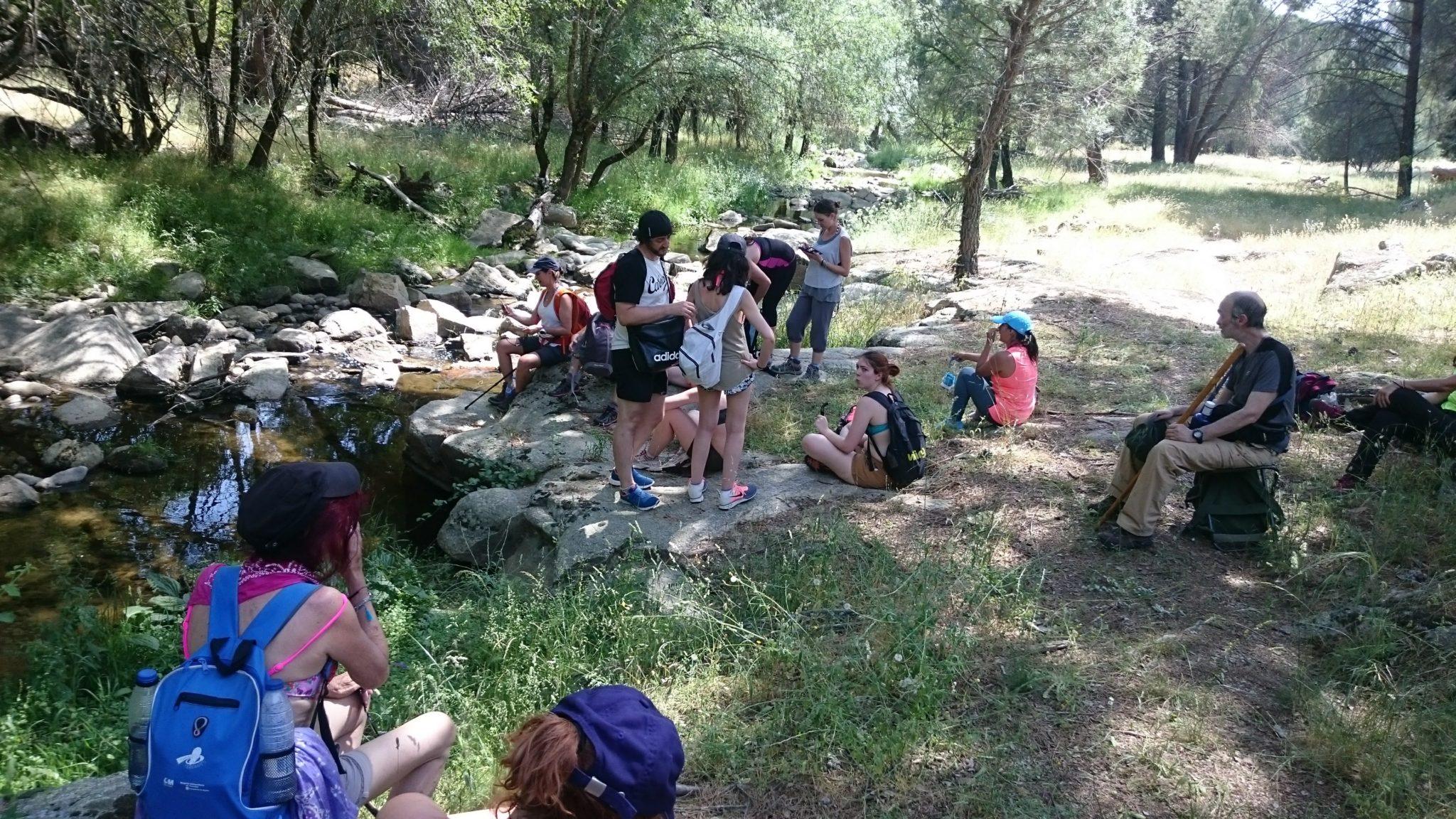 """Senderismo por el río Cofio con """"El Caminante y su Sombra"""""""