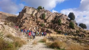 Senderismo por la Calzada Romana y canteras de Zarzalejo desde El Escorial