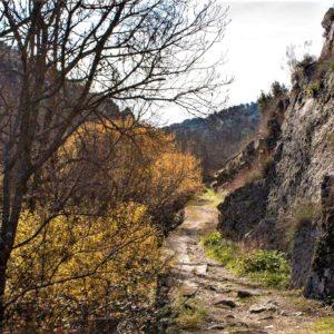"""Senderismo por el Cañón del Río Aulencia con """"El Caminante y su Sombra"""""""
