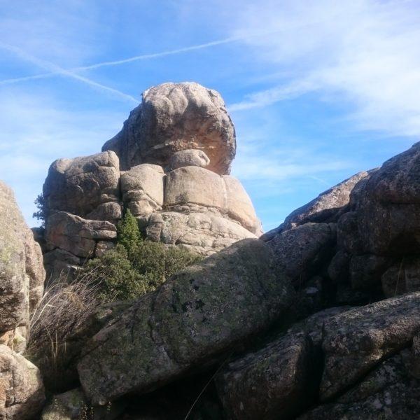 Senderismo en La Pedriza: Loma de La Camorza (El Caminante y su Sombra)