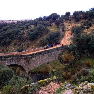 Senderismo al Puente de la Marmota (Río Manzanares) con El Caminante y su Sombra