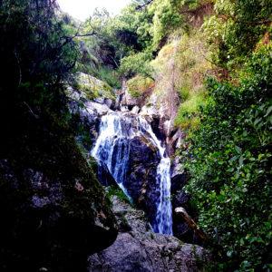 Senderismo a la Cascada del Cancho con EL Caminante y su Sombra
